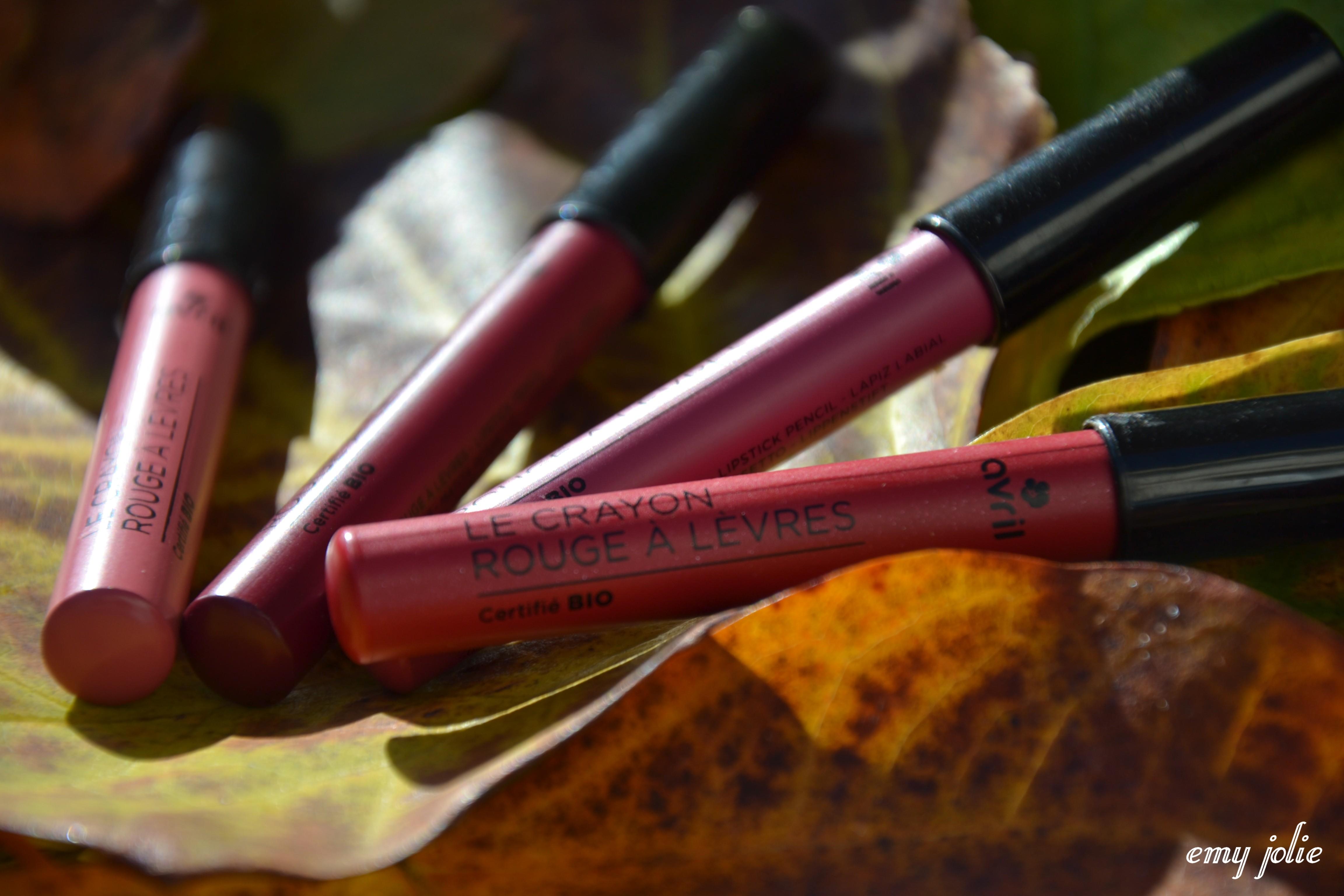 [Concours] Crayons à lèvres Avril - Azaé Pur